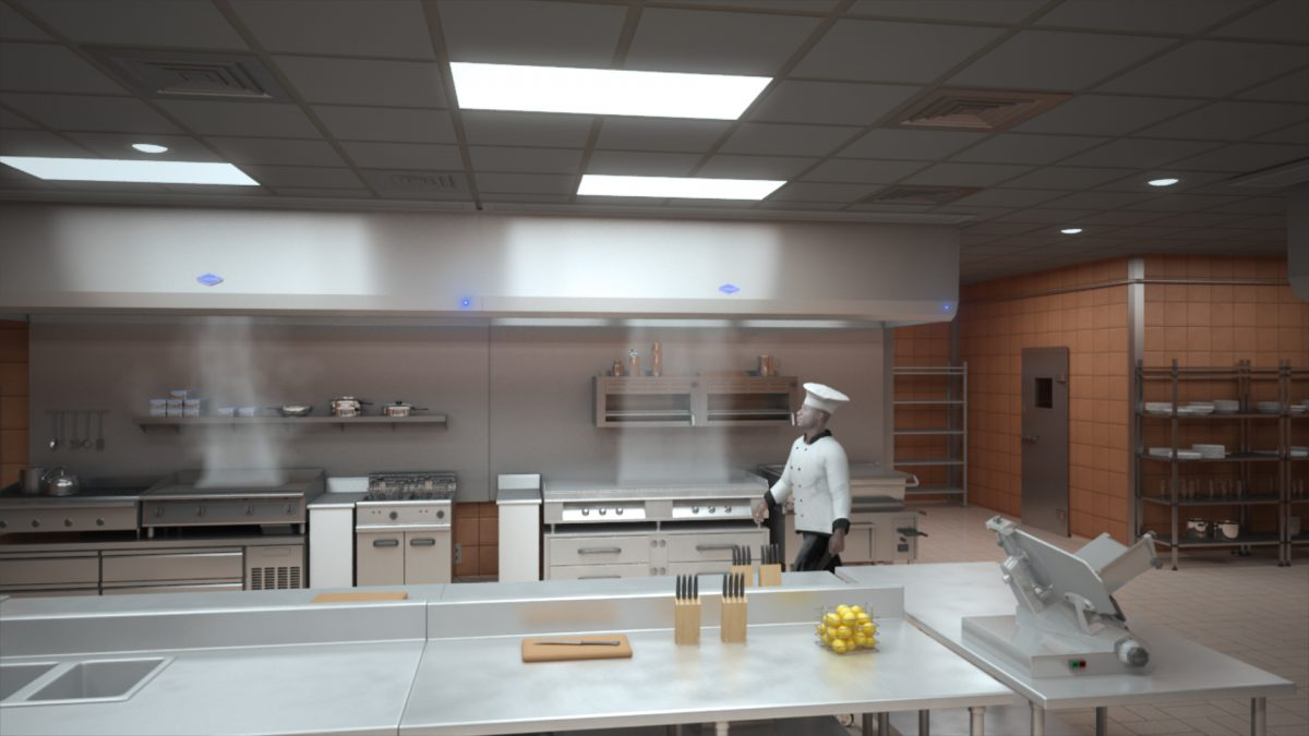 attractive Gaylord Kitchen Hoods #3: 3D Animation 3D Company 3D Visualization | Deep Sky