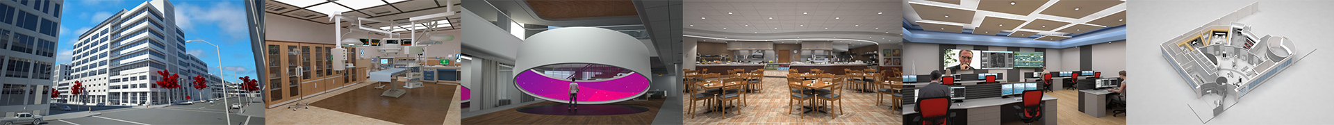 Portland 3D architectural visualization