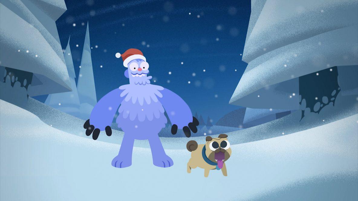 Abominable-snowman-and-pug