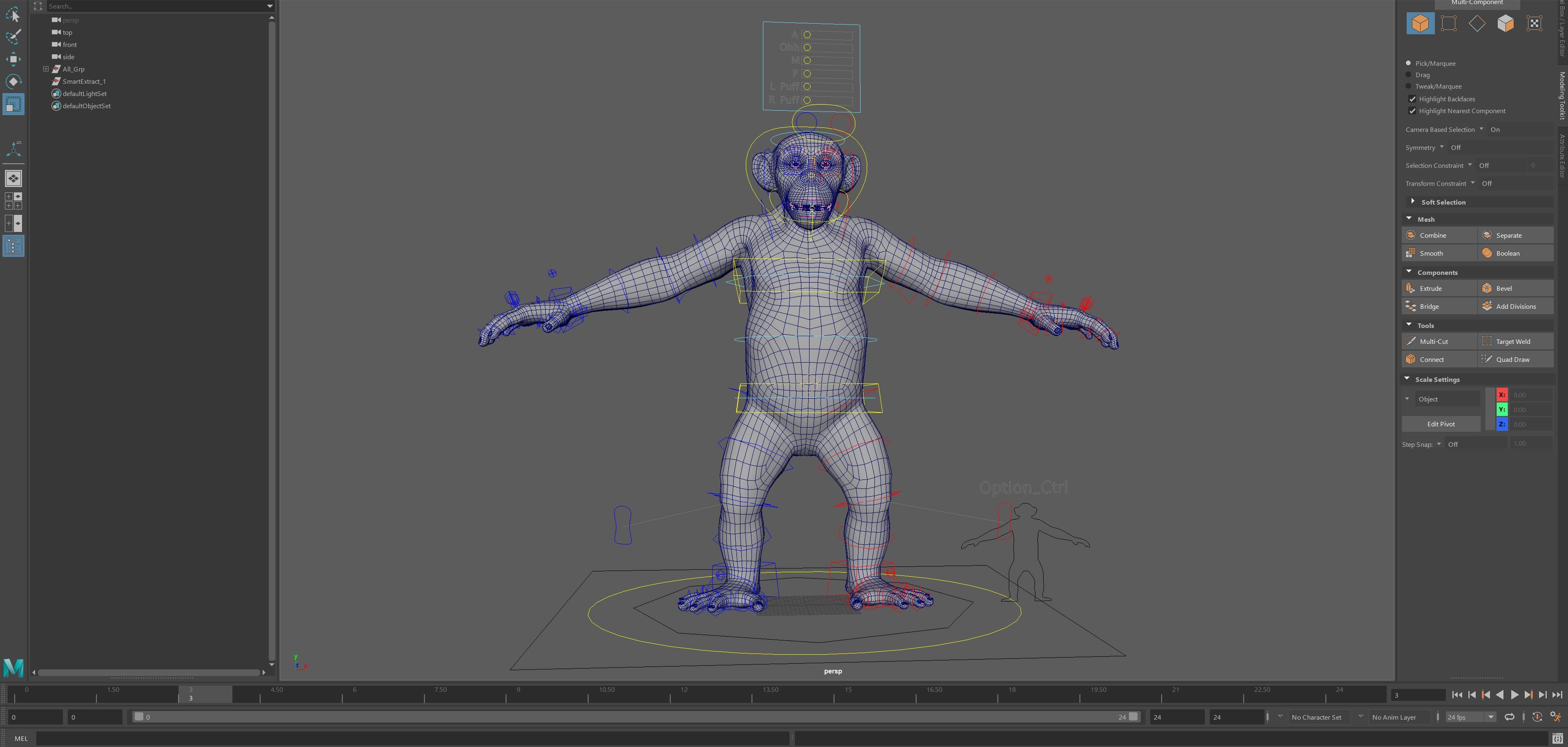 3D Chimpanzee Model, Animal Animation Studio   Deep Sky